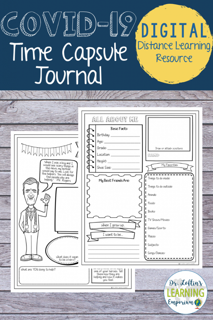 COVID-19 Time Capsule Journal