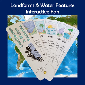 Landforms & Water Features Interactive Fan