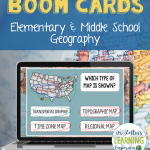 Different Types of Maps Boom Cards