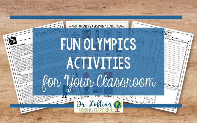 Fun Olympics Activities for Your Classroom